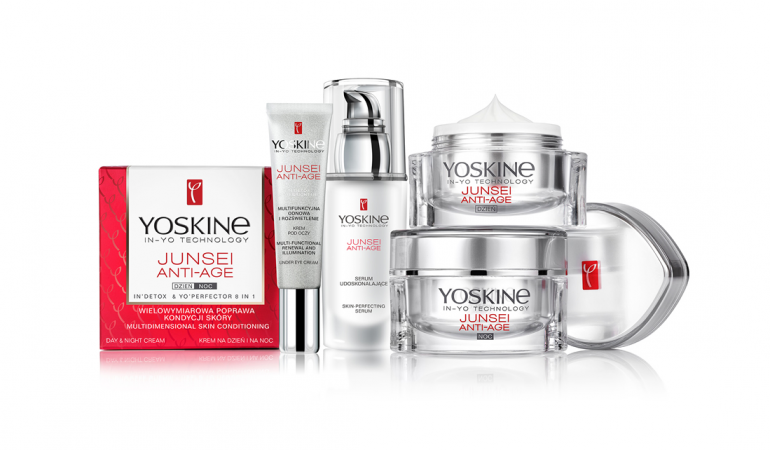 Flawless skin thanks to Yoskine Junsei Anti – Age