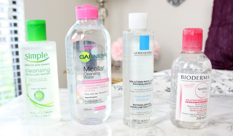 Top 6 of the best micellar waters for make-up removal