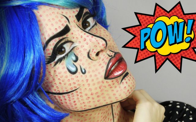 How to create Pop Art/Comic Book Make-up?