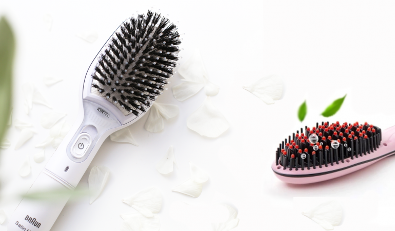 Braun Satin Hair Brush vs. Acevivi