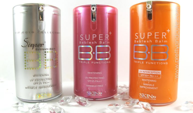 BB Creams from SKIN79 – Comparison of brand's products