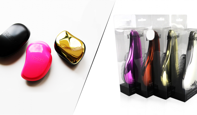 Tangle Teezer vs. TT-Hair Donegal