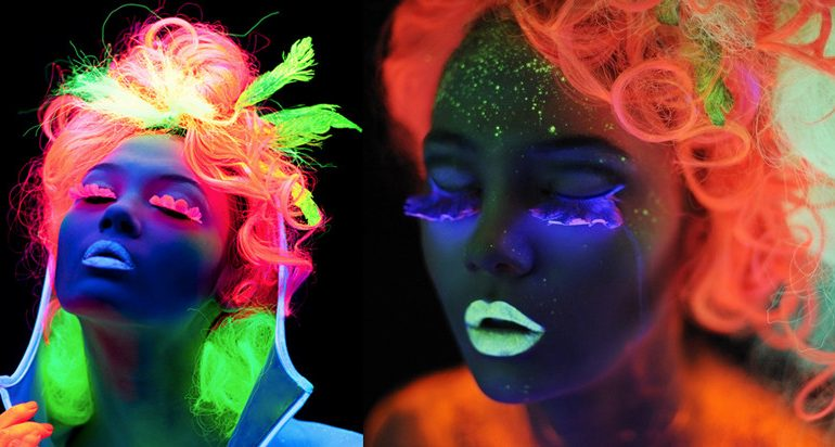 Trends 2016 – Glow in the dark hair