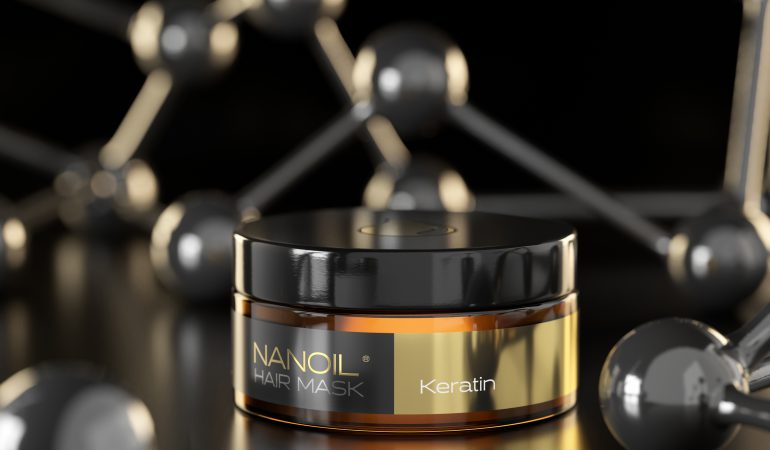 Stunning Hair? You Can Get the Look at Home! Try Total Hair Renewal with Nanoil Keratin Mask